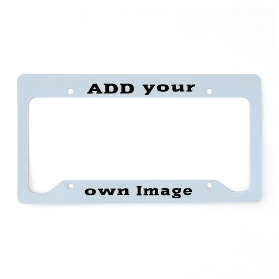 Add Image License Plate Holder