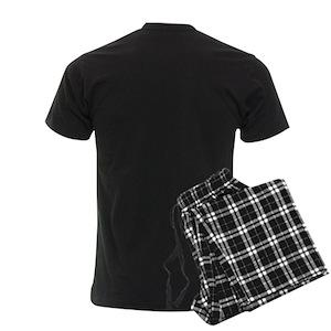 CafePress Papa Mama Baby Bear Mens Dark Pajamas Pajama Set