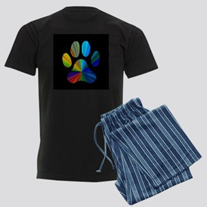 PAW PRINT Men's Dark Pajamas
