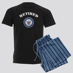U. S. Navy Retired Men's Dark Pajamas