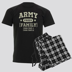 Army Sister/Brother/Cousin Men's Dark Pajamas