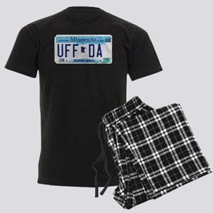 "Minnesota ""Uffda"" Men's Dark Pajamas"