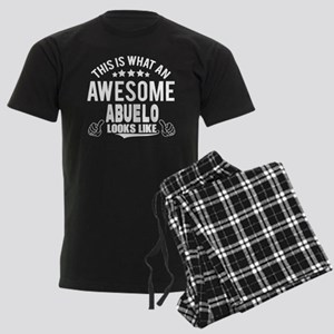 THIS IS WHAT AN AWESOME ABUELO LOOKS LIKE pajamas