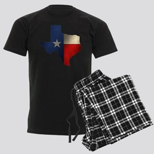 State of Texas1 Men's Dark Pajamas