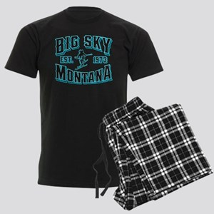 Big Sky Black Ice Men's Dark Pajamas