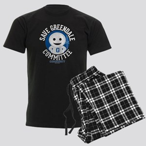 Save Greendale Committee Men's Dark Pajamas