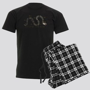 Unite or Die Men's Dark Pajamas