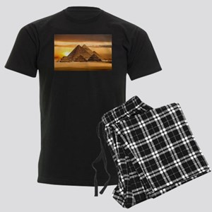 Egyptian pyramids Men's Dark Pajamas