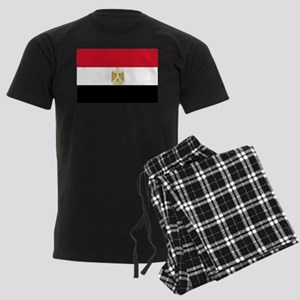 Flag of Egypt Men's Dark Pajamas