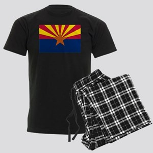 ARIZONA STATE FLAG Men's Dark Pajamas