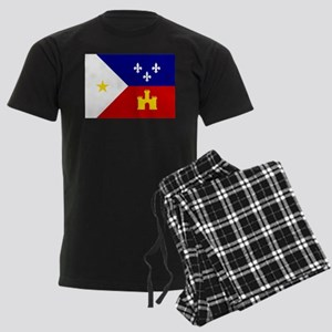 Flag of Acadiana Louisiana Pajamas
