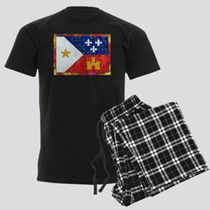 AcadianFlagBright Pajamas