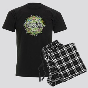 NH-Lymphoma-Lotus Men's Dark Pajamas