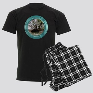 Belize-Porthole Men's Dark Pajamas