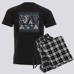 Native Pattern Men's Dark Pajamas