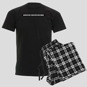 Bernese Mountain Dog Gifts Men's Dark Pajamas