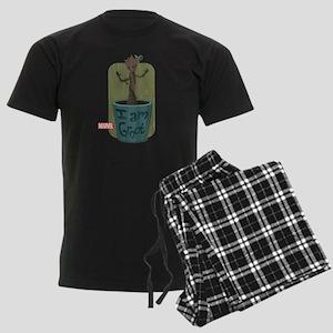 Guardians Baby Groot Men's Dark Pajamas