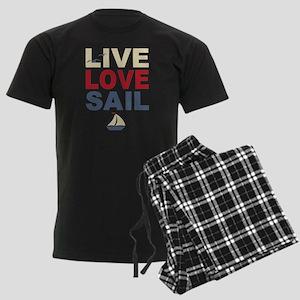 Live Love Sail Men's Dark Pajamas
