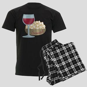 Scandal Red Wine Popcorn Pajamas