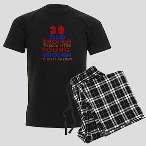 38 Old Enough Young Enough Bir Men's Dark Pajamas
