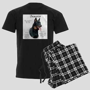 Beauceron Men's Dark Pajamas
