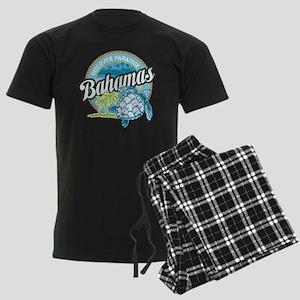 Bahamas Men's Dark Pajamas