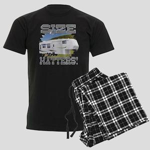 Size Matters Fifth Wheel Men's Dark Pajamas