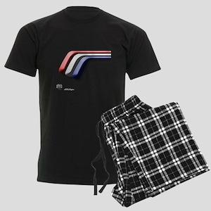 Mustang Deluxe 2 Sides Men's Dark Pajamas