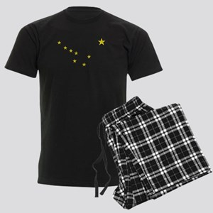 Vintage Alaska Men's Dark Pajamas