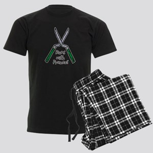 Runs with Pruners Men's Dark Pajamas