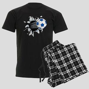 Breakthrough Soccer Ball Men's Dark Pajamas