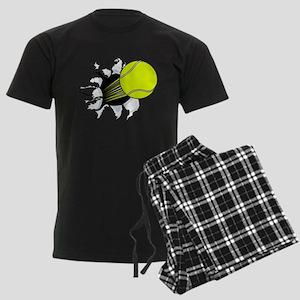 Breakthrough Tennis Ball Men's Dark Pajamas