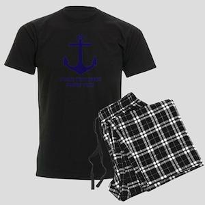 Nautical boat anchor Pajamas