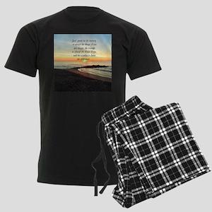 SERENITY PRAYER Men's Dark Pajamas