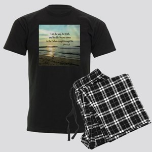 JOHN 14:6 Men's Dark Pajamas