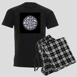 Alpha Omega Glass Window Men's Dark Pajamas