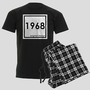 1968 birthday original design Men's Dark Pajamas