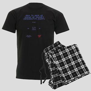 Pro Choice Chart Men's Dark Pajamas