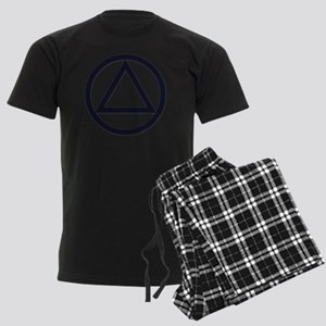 A.A._symbol_LARGE Men's Dark Pajamas