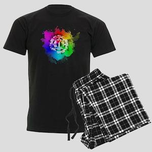 The 100 Heda (Pride Version) Men's Dark Pajamas