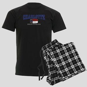Charlotte, North Carolina NC USA Men's Dark Pajama