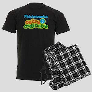 Phlebotomist Extraordinaire Men's Dark Pajamas