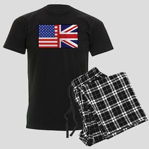 USA/Britain Men's Dark Pajamas