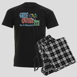 Get Over It - 4 Wheeling Men's Dark Pajamas