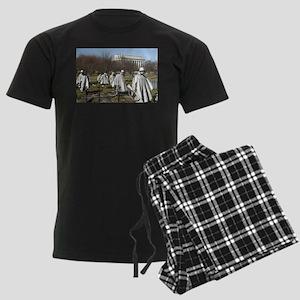 Korean War Memorial Men's Dark Pajamas