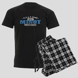 Minot Air Force Base Men's Dark Pajamas