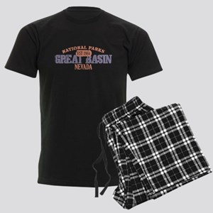 Great Basin National Park NV Men's Dark Pajamas