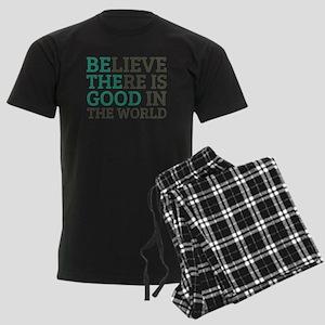 Believe There is Good Men's Dark Pajamas
