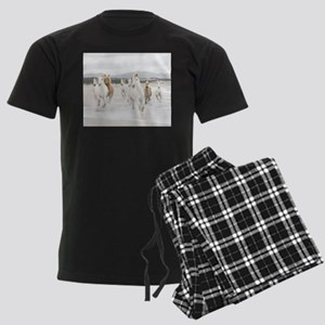 Horses Running On The Beach pajamas