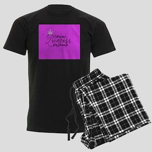 Princess Throw Blanket Men's Dark Pajamas